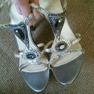 Charles  Jourdan  Paris  sandals